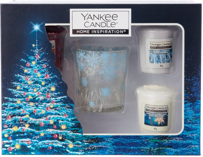 Yankee Yankee Candle 10 Votive Candle and Holder Set