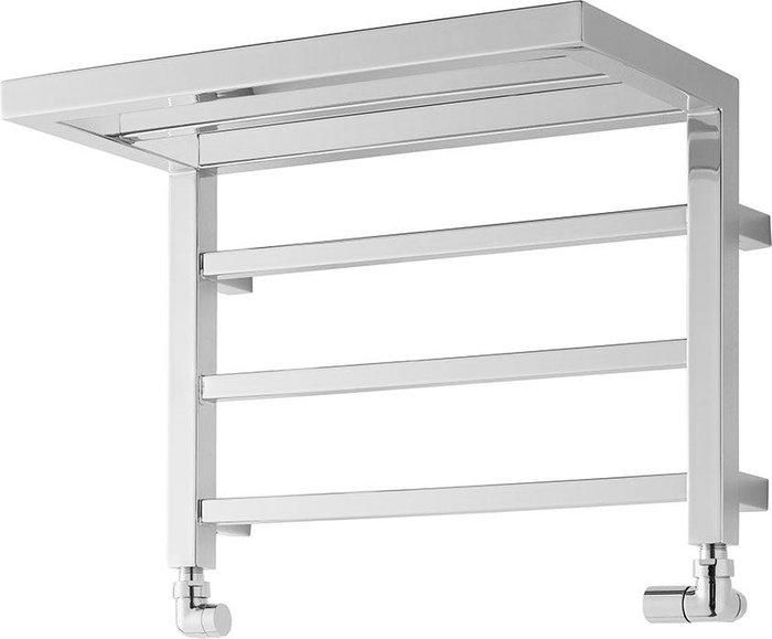 Towelrads Towelrads Heating Style Holyport 350mm x 500mm Shelf Heated Towel Rail - Chrome