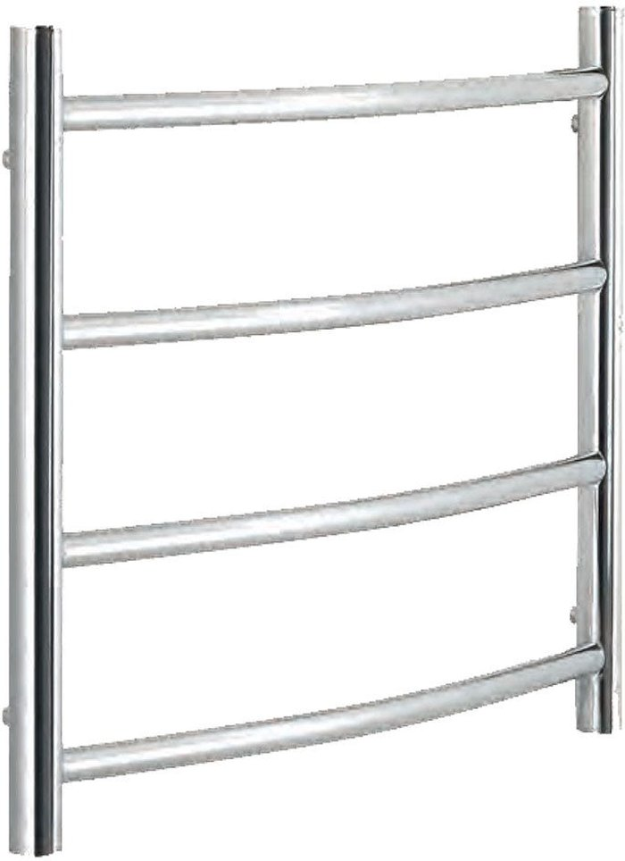 Towelrads Towelrads Heating Style Calcot 600mm x 400mm Dry Electric Stainless Steel Heated Towel Warmer - Polished