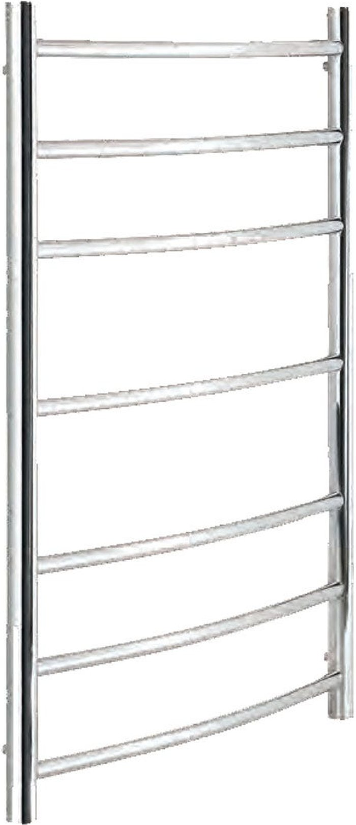 Towelrads Towelrads Heating Style Walton 800mm x 600mm Dry Electric Stainless Steel Heated Towel Warmer - Polished