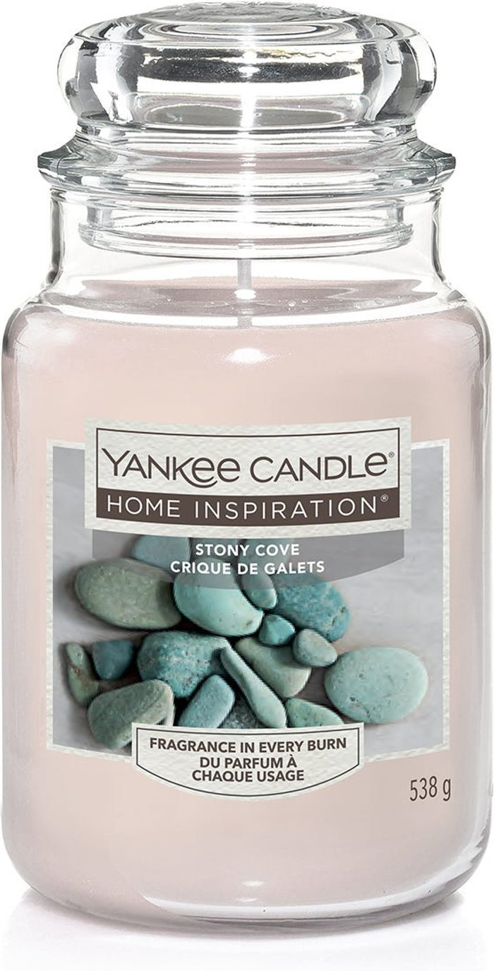 Yankee Yankee Candle Home Inspiration Stony Cove Jar Candle - 538g