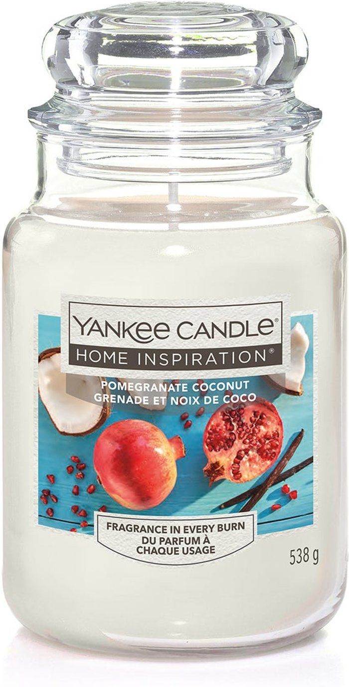 Yankee Yankee Candle Home Inspiration Pomegranate Coconut Jar Candle
