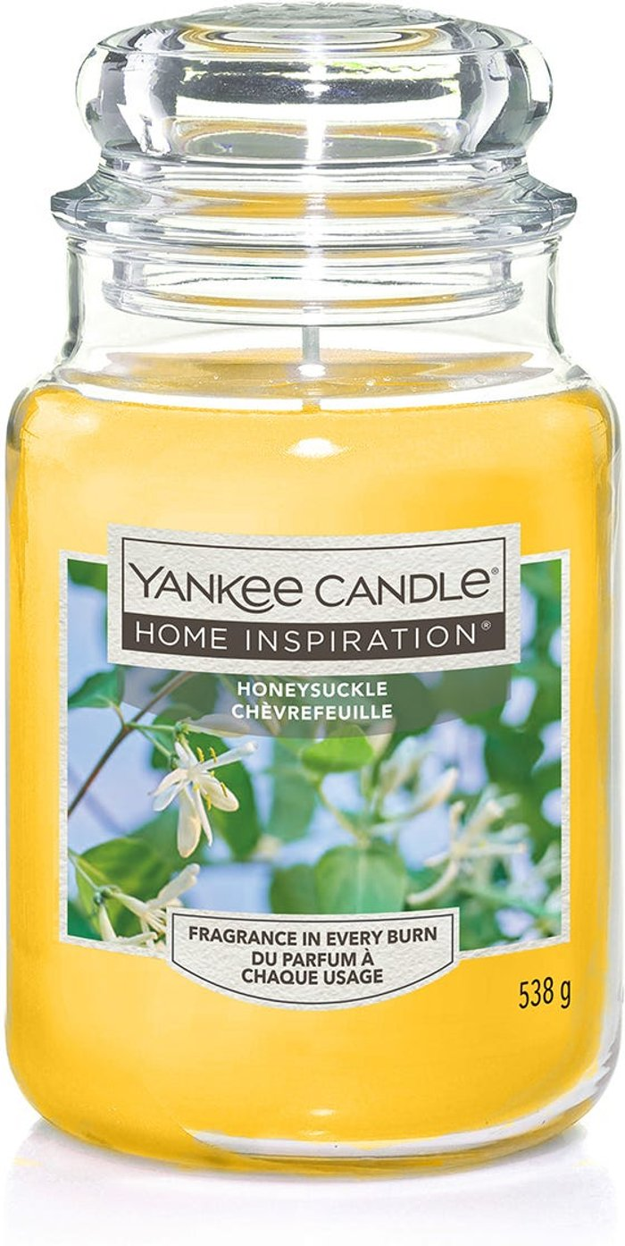 Yankee Yankee Candle Home Inspiration Honeysuckle Large Jar Candle