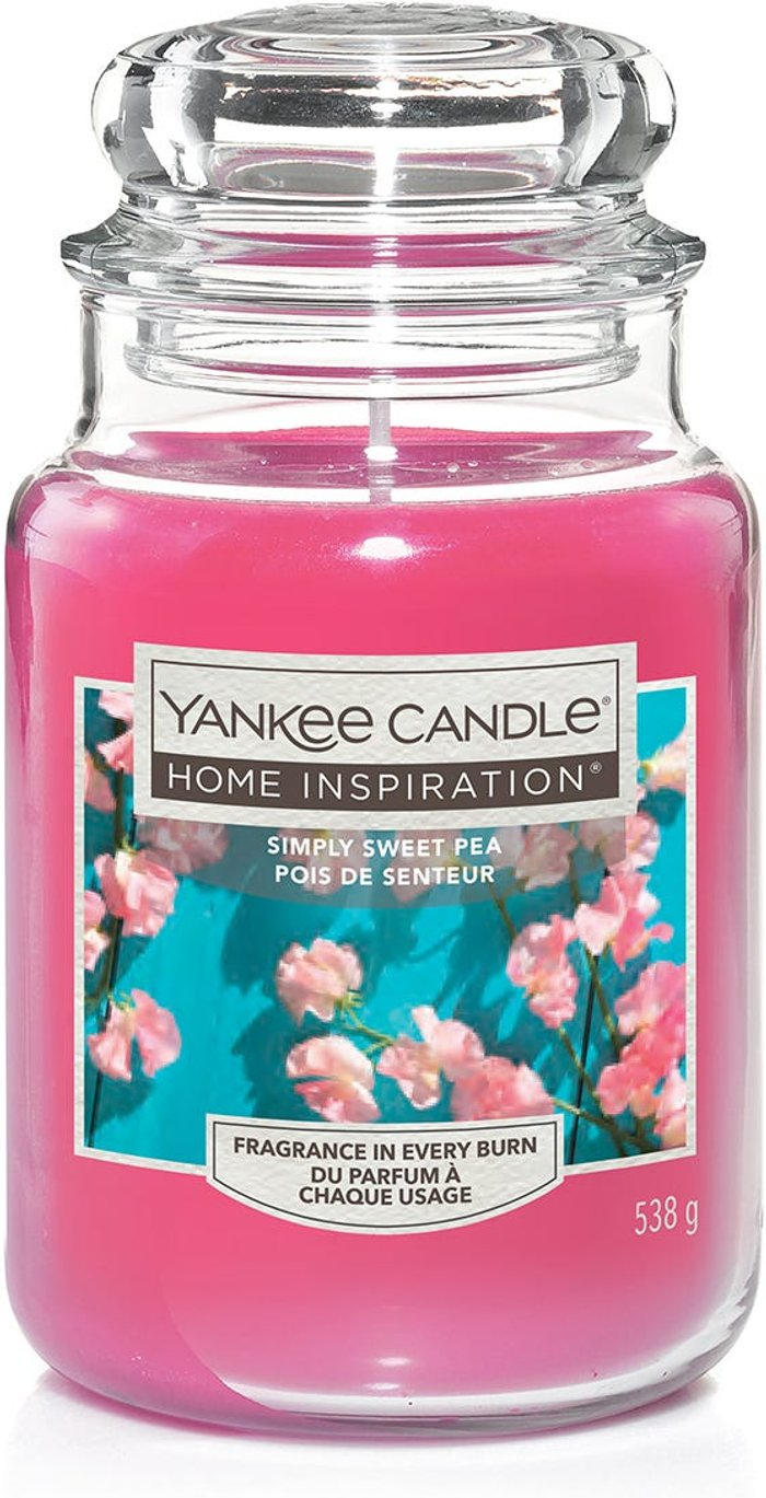 Yankee Yankee Candle Home Inspiration Simply Sweet Pea Jar Candle