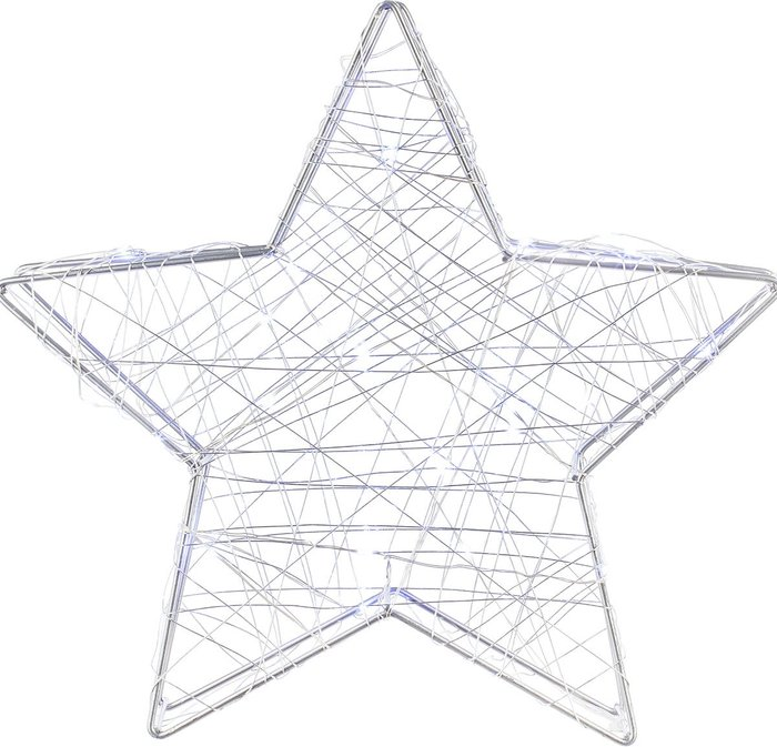 The Straits Trading Company The Straits Trading Company Straits LED Copper Wire Star - 30cm