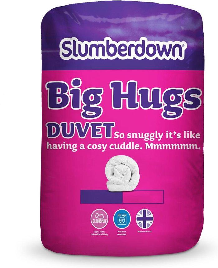 Slumberdown Slumberdown Big Hugs King Duvet 10.5 Tog - White