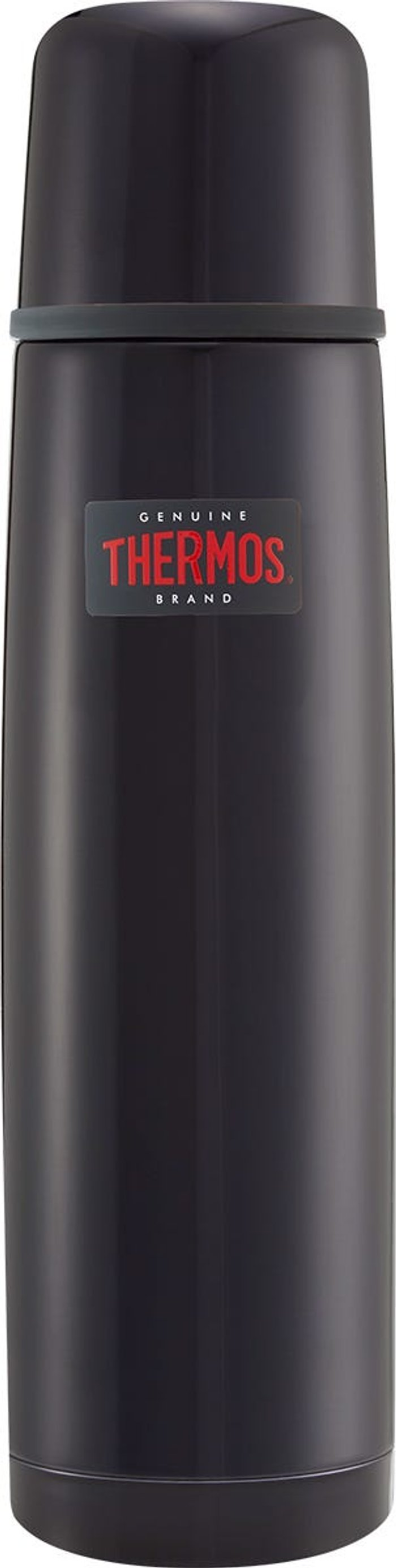 Thermos Thermos Light and Compact Stainless Steel Flask - Midnight Blue 1L
