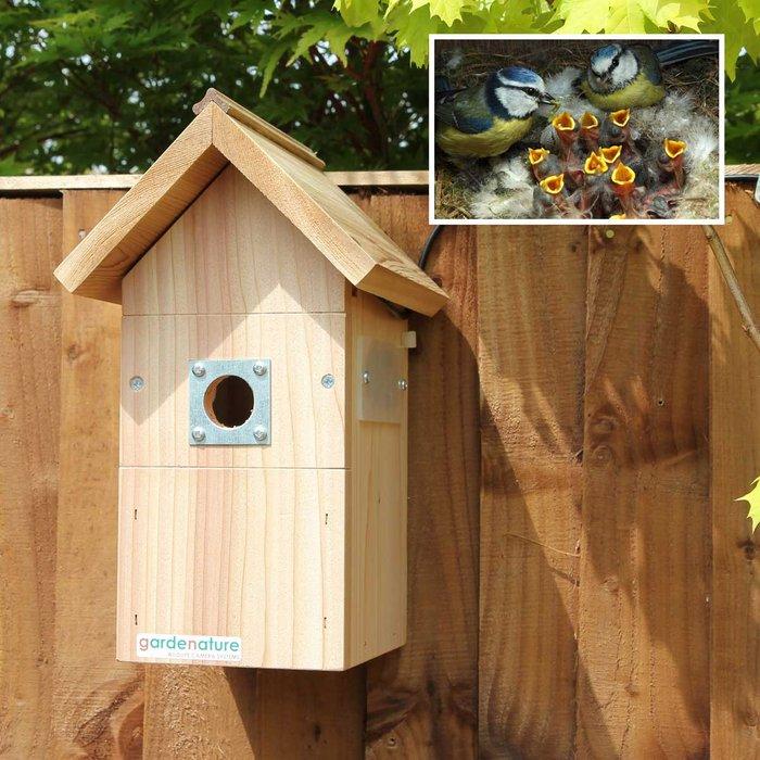 Gardenature Gardenature Nest Box Wired Camera System - 40 Meter