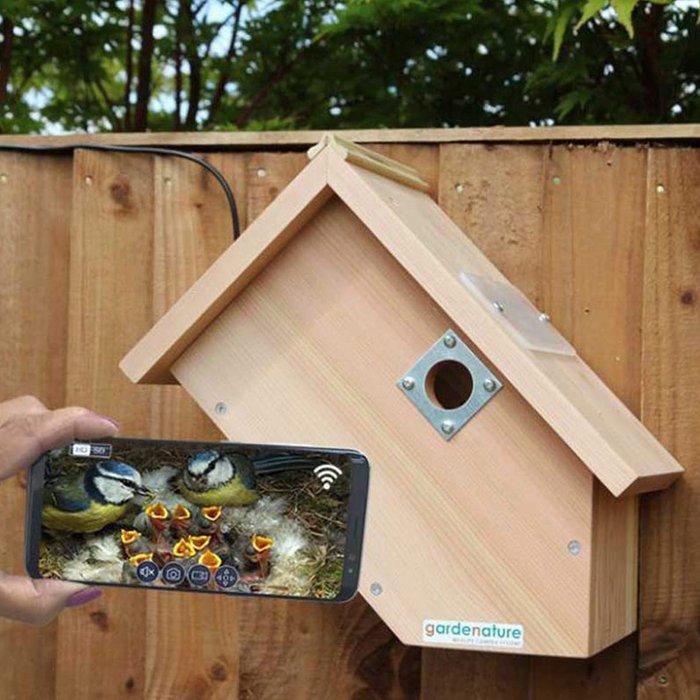 Gardenature Gardenature IP Camera Bird Box System - Side View 40m