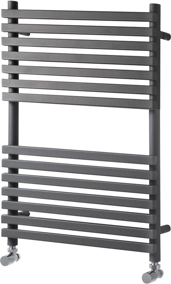 Towelrads Towelrads Oxfordshire Ladder Towel Rail Radiator - Anthracite 1186x500