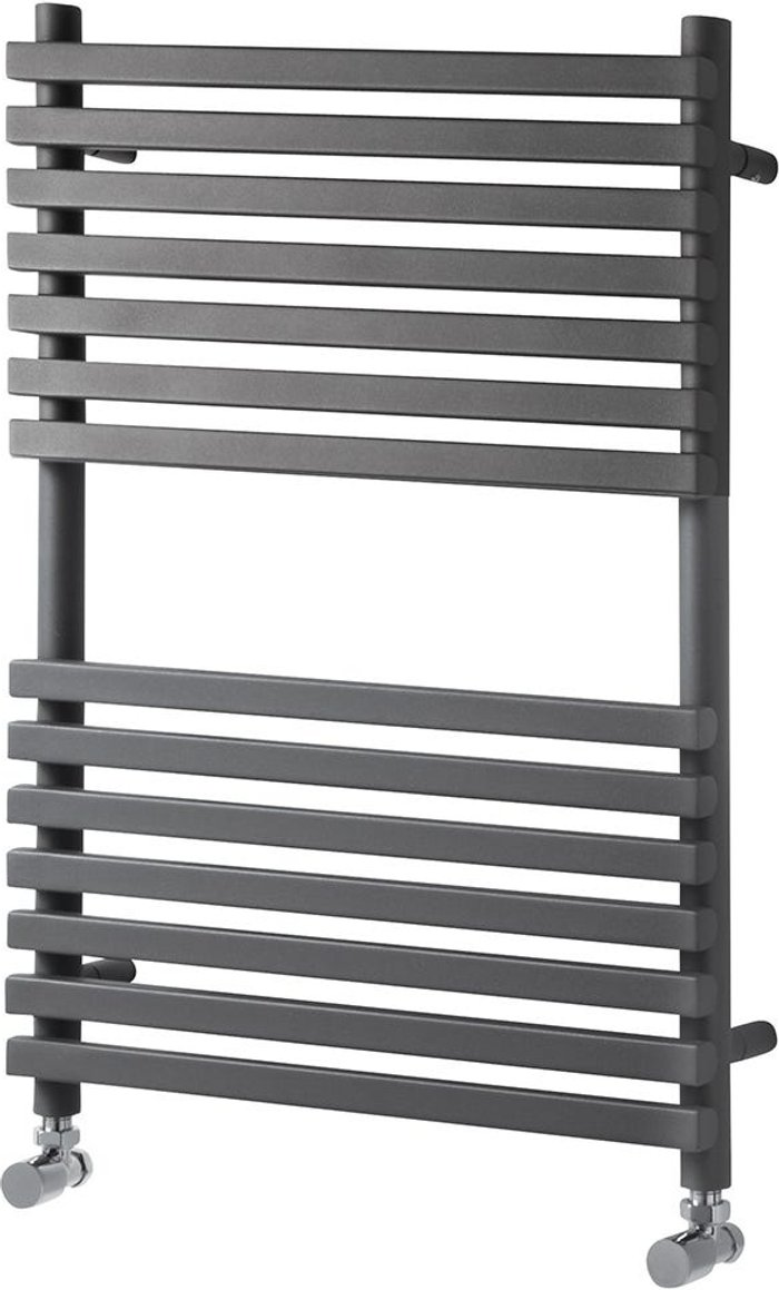 Towelrads Towelrads Oxfordshire Ladder Towel Rail Radiator - Anthracite 1500x500
