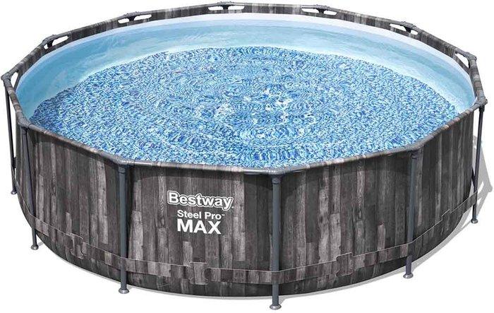 Steel pro max PVC Family swimming pool 1440.9ft