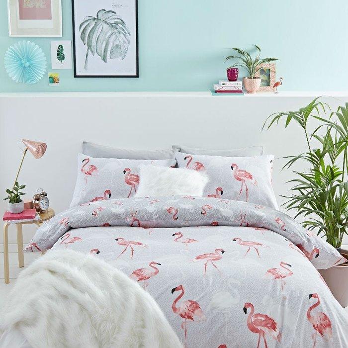 Catherine Lansfield Catherine Lansfield Flamingo Duvet Set - King