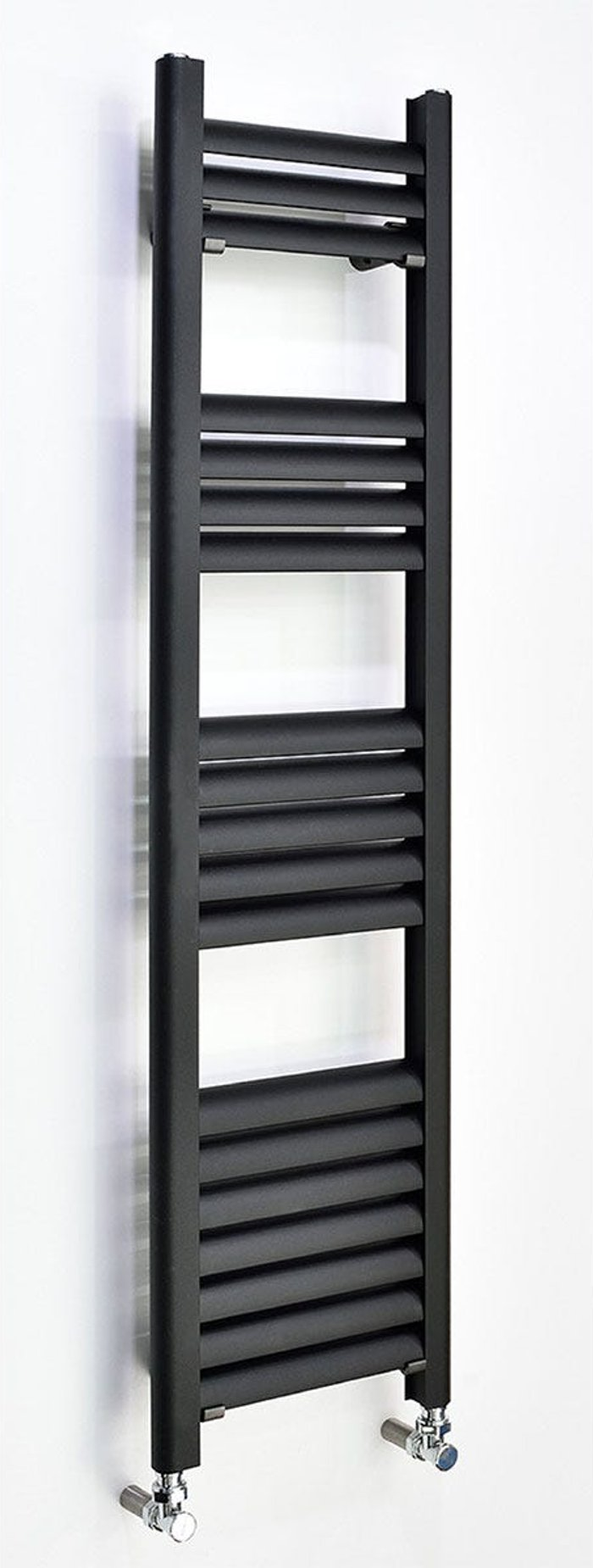 Towelrads Towelrads Accuro Korle Champagne 1200mm x 300mm Aluminium T/Warmer - Anthracite