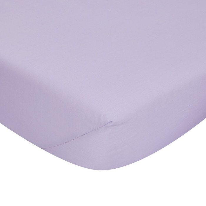 Catherine Lansfield Catherine Lansfield Lilac Non-Iron Fitted Sheet