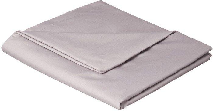 Catherine Lansfield Catherine Lansfield Grey Non-Iron Plain Dye Flat Sheet