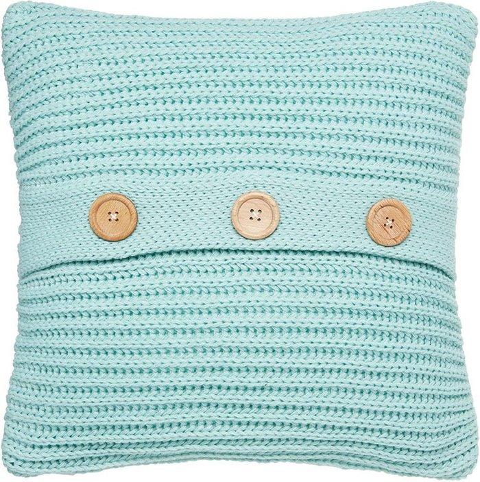 Catherine Lansfield Catherine Lansfield Chunky Knit Cushion - Duck Egg