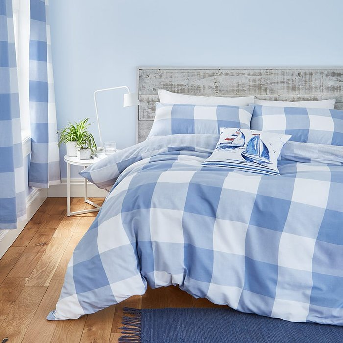 Catherine Lansfield Catherine Lansfield Boston Check Bed Set - King