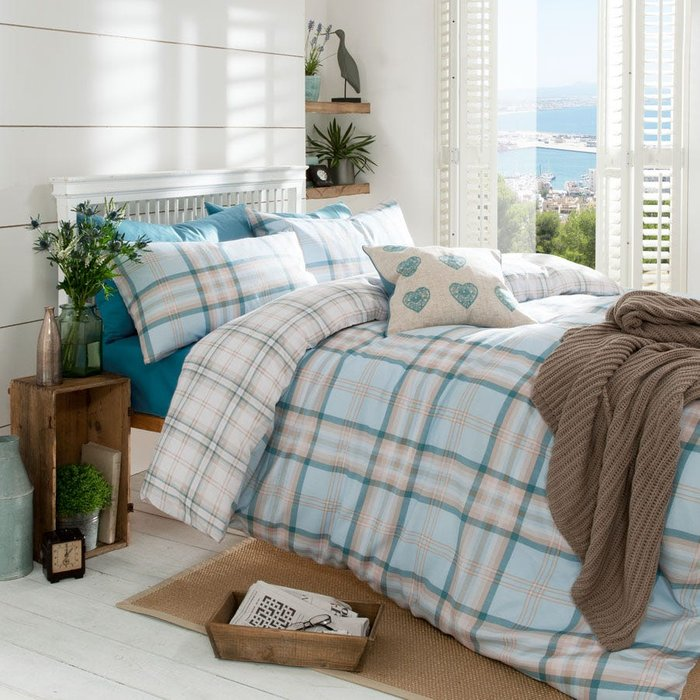 Catherine Lansfield Catherine Lansfield Kelso Check Double Duvet Set