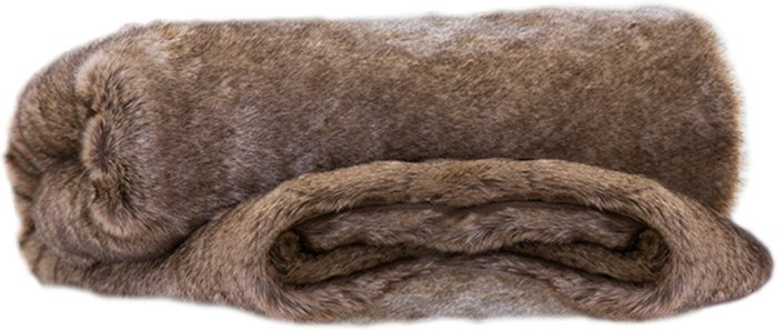 Deyongs Deyongs Elgin Super Soft Faux Fur Throw - Brown