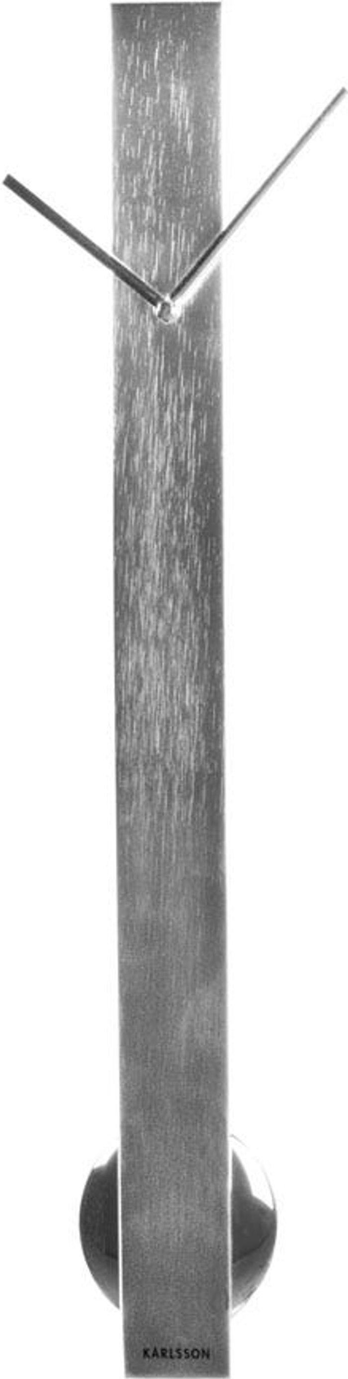 Karlsson Karlsson Pendulum Wall Clock - Silver