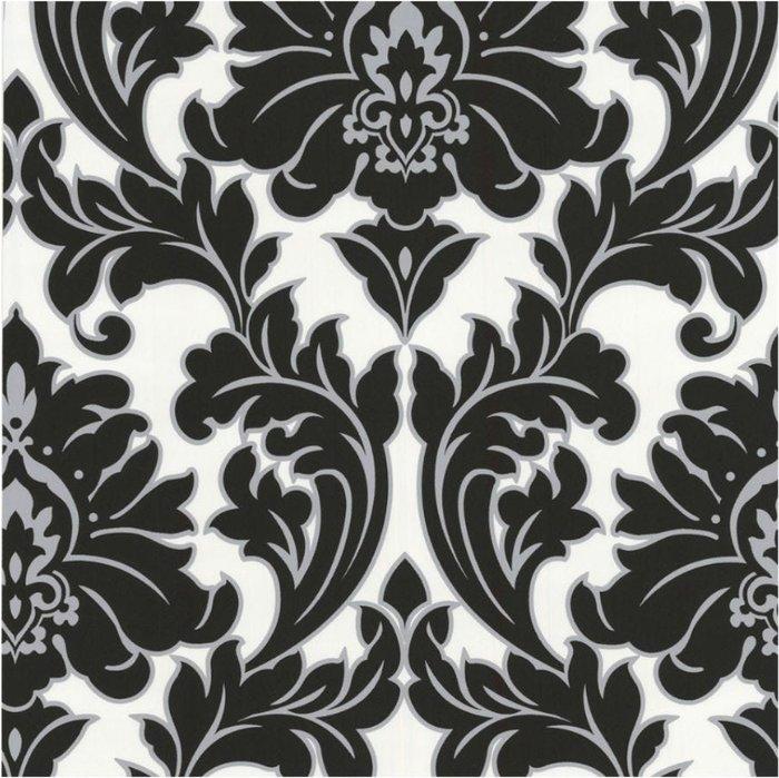 Graham & Brown Graham & Brown Super Fresco Majestic Wallpaper - Monochrome