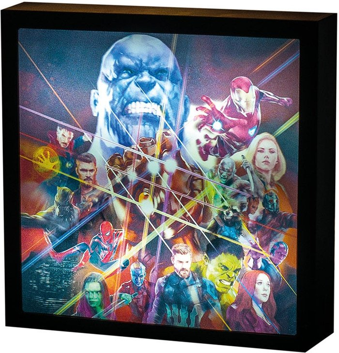 Paladone Products Paladone Products Marvel Avengers Infinity War 3D Luminart
