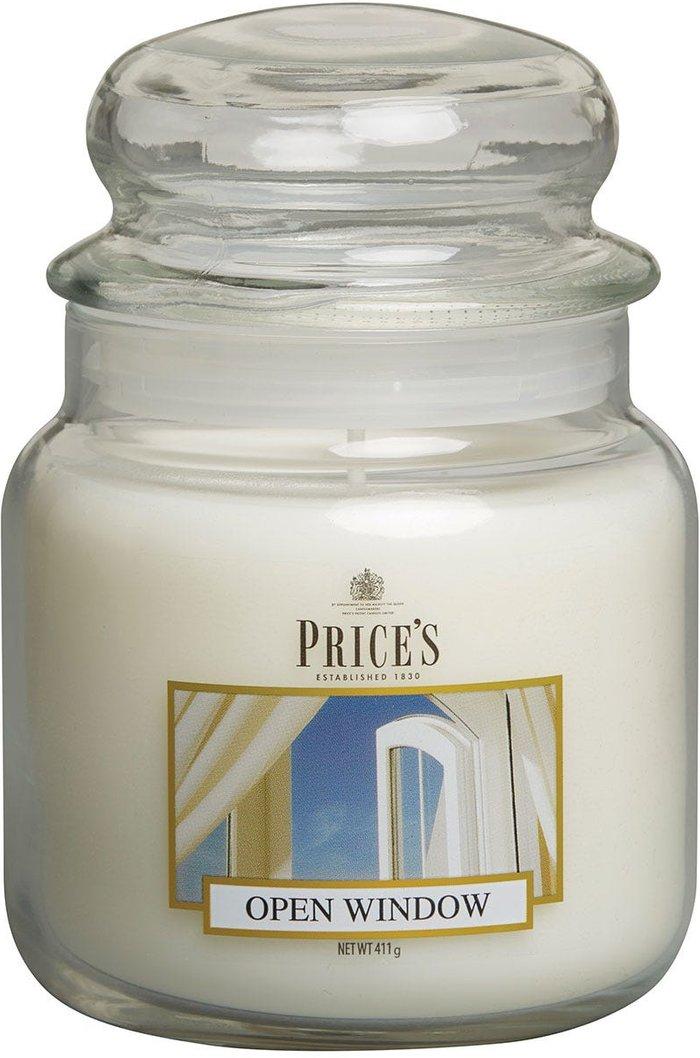 Price's Candles Price's Candles Price's Medium Scented Candle Jar - Open Window