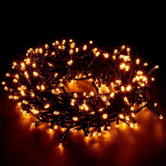 Festive Festive Mains Operated Firefly 100 LED Twister Flashing Lights - Warm White