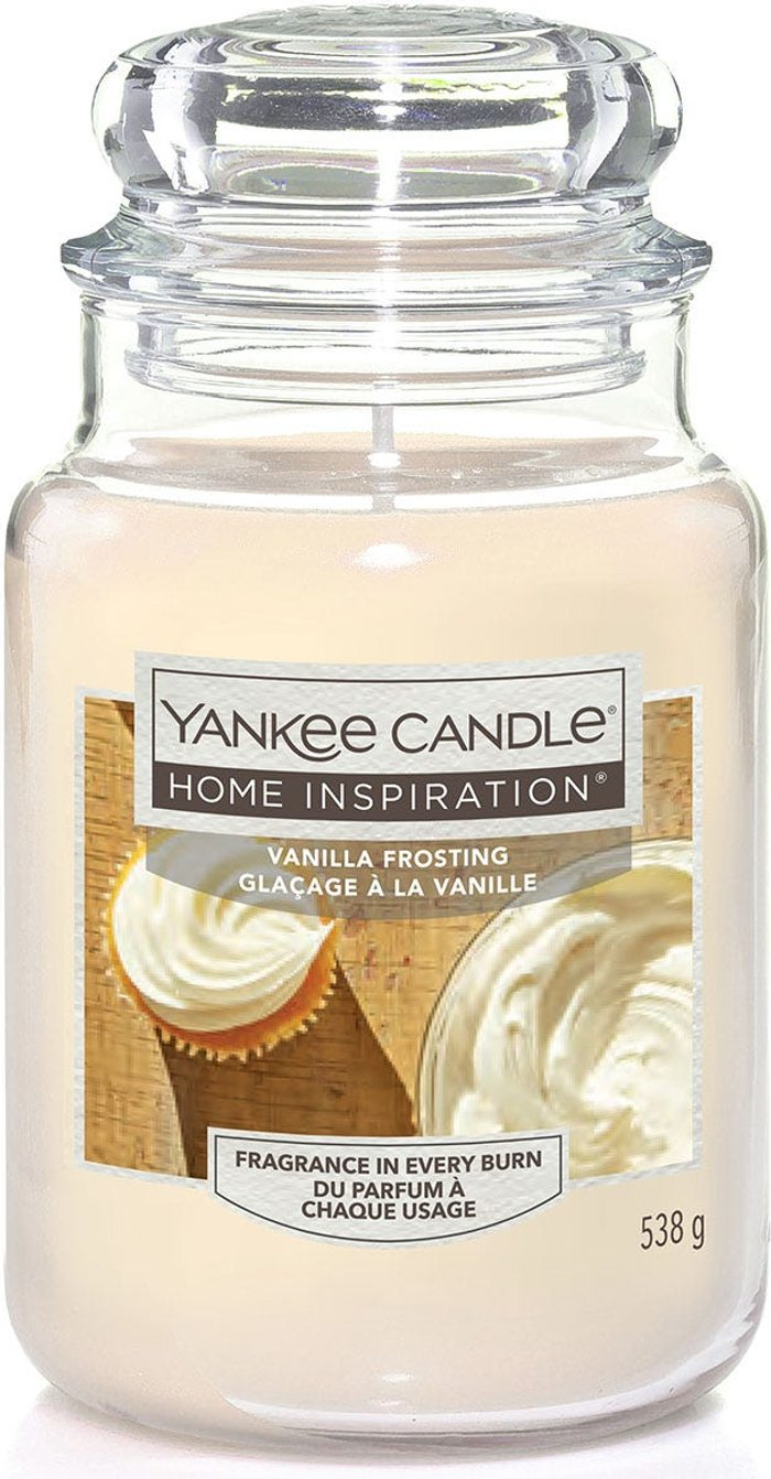 Yankee Yankee Candle Home Inspiration Vanilla Frosting Jar Candle