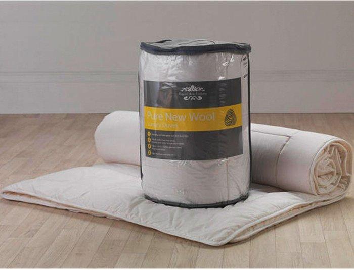 Lancashire Textiles Lancashire Textiles 10.5 Tog Wool Duvet - Double