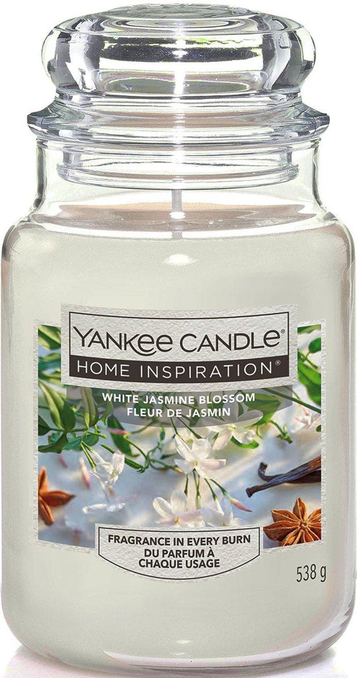 Yankee Yankee Candle Home Inspiration White Jasmine Blossom Jar Candle
