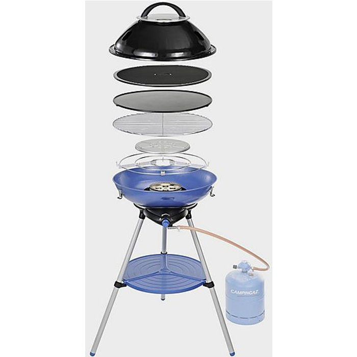 Campingaz Campingaz Party Grill 600 Camping Stove - All in One portable Camping BBQ, Grill & Stove, small gas barbecue, tabletop BBQ, outdoor grill, also for caravan and balcony