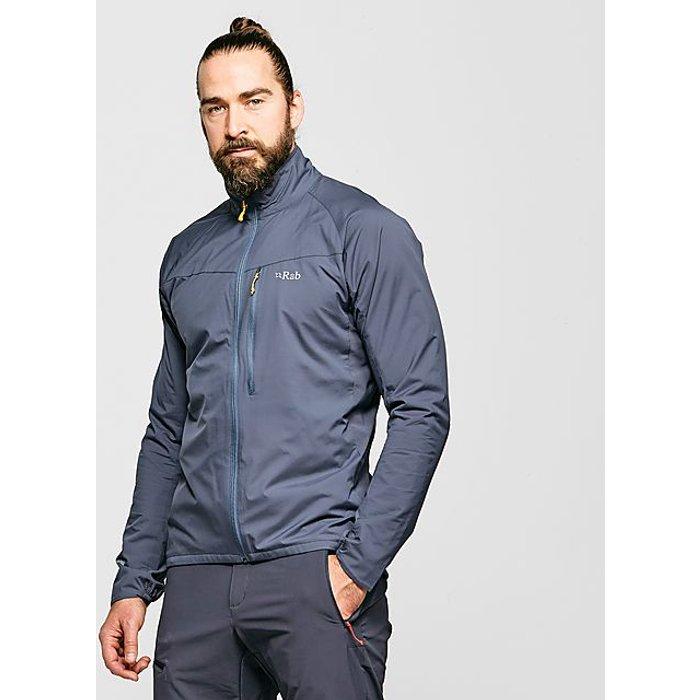 Rab Rab Vapour-rise Flex Jacket Jacket Men steel Size XXL 2019 winter jacket