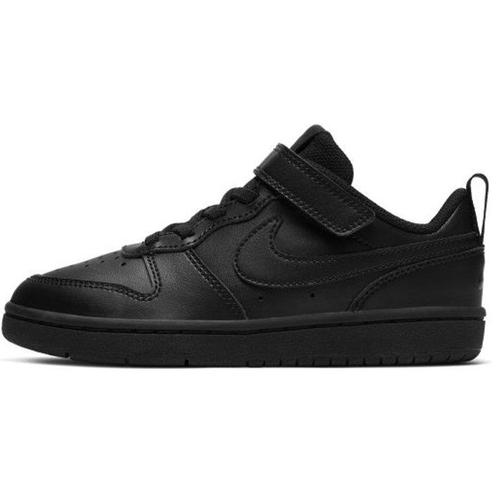 Nike Boys Nike Court Borough Low Junior Trainers -  Black