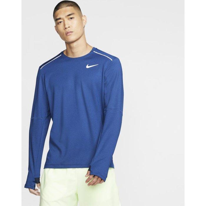 Nike Mens Nike Running Crew -  Blue