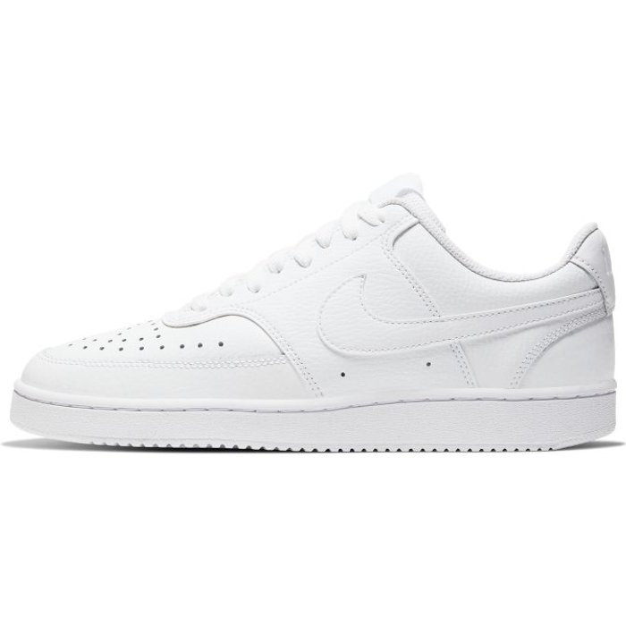 Nike Womens Nike Court Vision Lo Trainers -  White