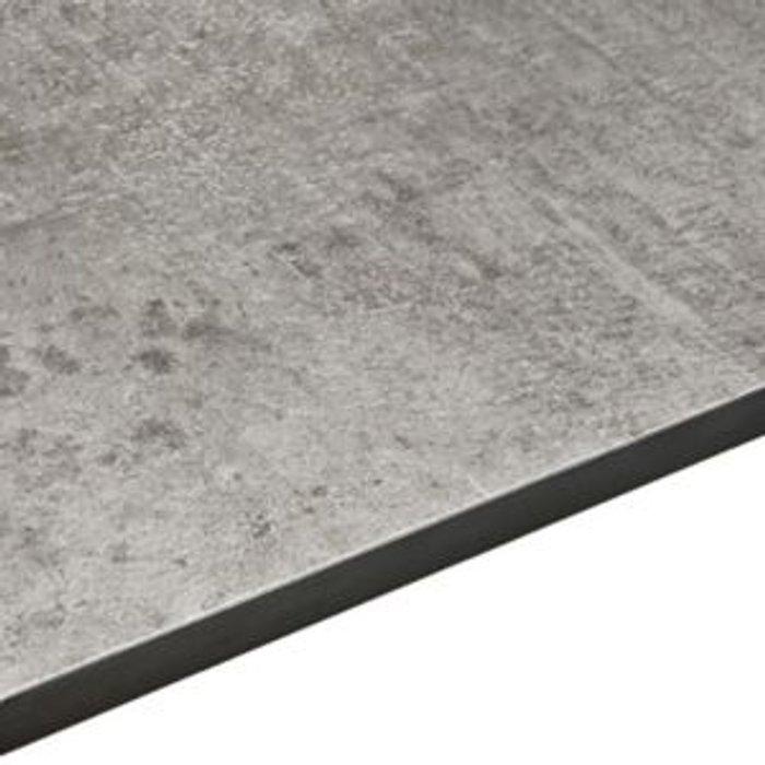 Exilis Exilis Woodstone Grey Vanity worktop  (W)425mm