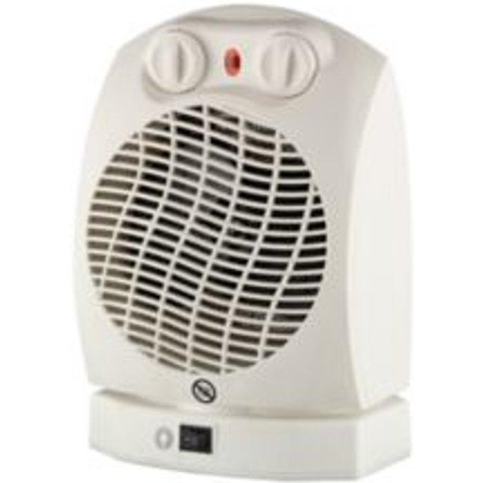 Electric 2000W Black Domestic Heater