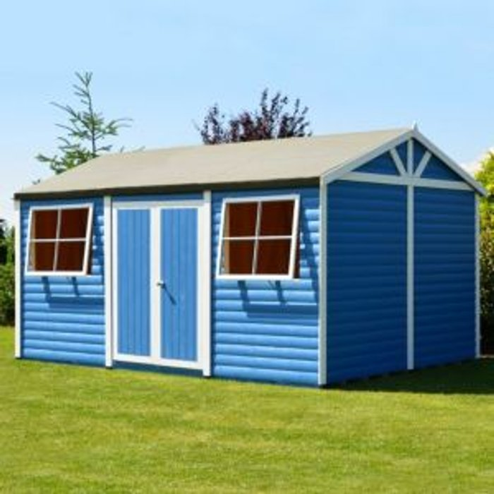 Shire 18x12 Mammoth Loglap Wooden Workshop With assembly service