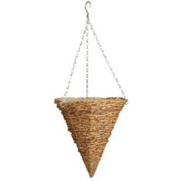 Save 53% - Gardman Rustic spot Hanging basket (D)30.48cm