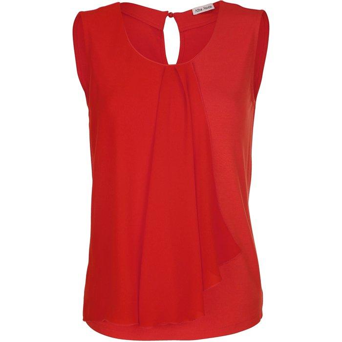 Artikel klicken und genauer betrachten! - Sie haben Lust auf einen frischen und modernen Sommer-Look, der sich unkompliziert stylen und kombinieren lässt? Wie wäre es mit diesem modernen Shirt in strahlendem Orange. Kombinieren Sie dieses Shirt am besten mit schlichten Basics, wie einer einfarbigen Shorts oder sommerlichen Rock. Aber auch fröhliche Blätter- oder Blütendessins harmonieren mit dem frischen Farbton. | im Online Shop kaufen
