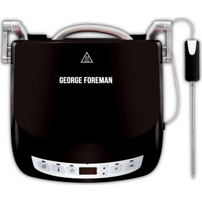 George Foreman GEORGE FOREMAN 24002 Precision Grill - Black, Black