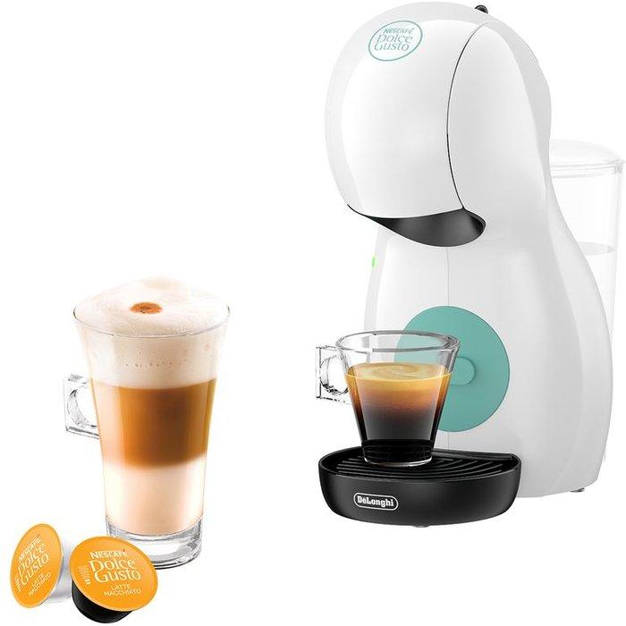 HALF PRICE! DELONGHI by De'Longhi Piccolo XS EDG210W Coffee Machine - White, White
