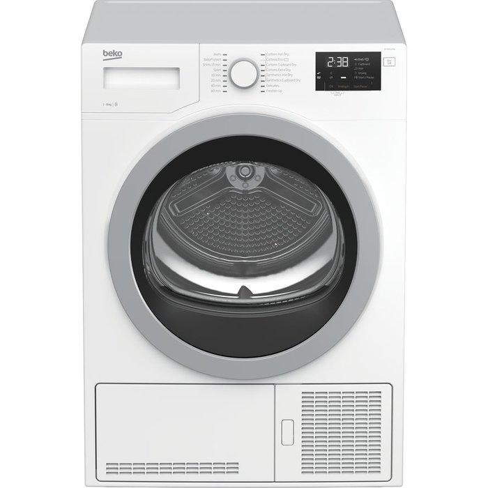 Save £30.00 - Beko Tumble Dryer DCX83120W 8 kg Condenser  - White, White