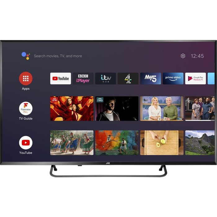 """Save £30.00 - 40""""  JVC LT-40CA890 Android TV  Smart 4K Ultra HD HDR LED TV with Google Assistant"""