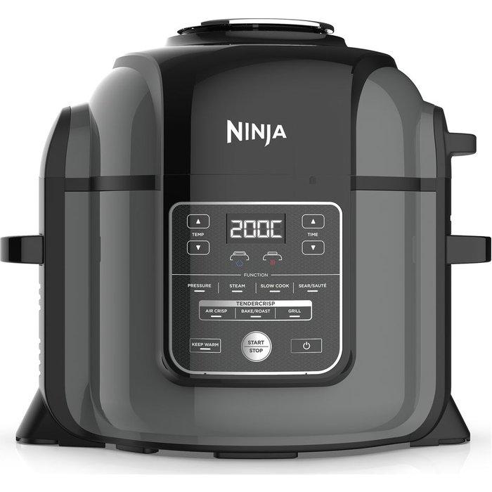 Save £35.00 - NINJA Foodi OP450UK Multi Pressure Cooker & Air Fryer - Black, Black
