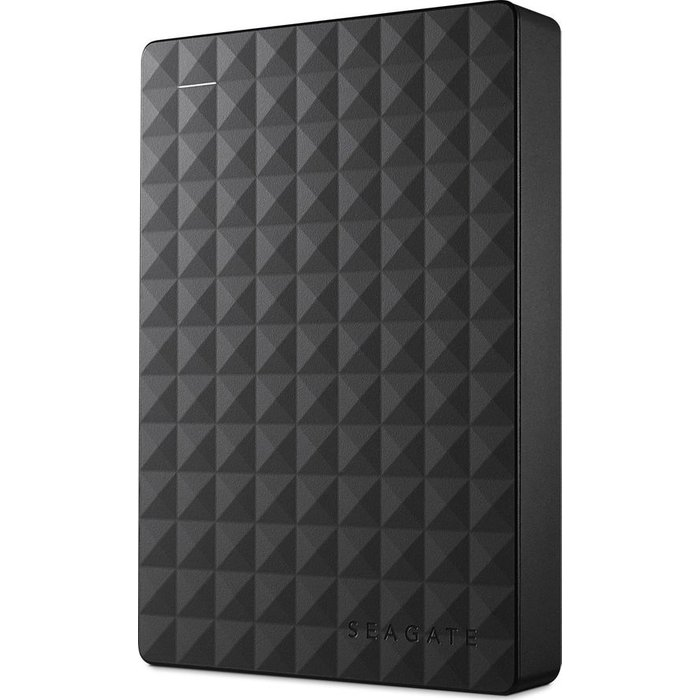 Save £15.30 - SEAGATE Expansion Portable Hard Drive - 4 TB, Black, Black