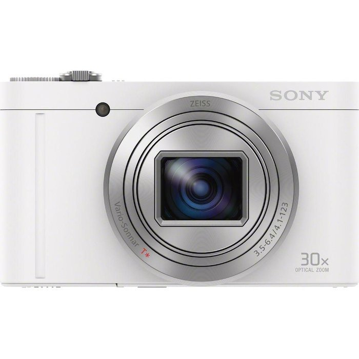 Save £14.00 - SONY Cyber-shot Cyber-shot DSC-WX500W Superzoom Compact Camera - White, White