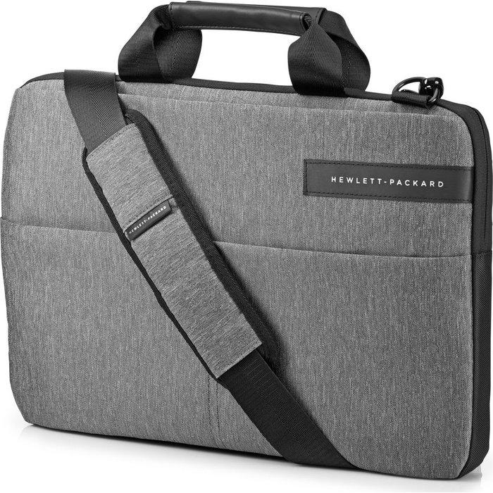 "Save £5.00 - HP Signature Slim Topload 14"" Laptop Case - Grey, Grey"
